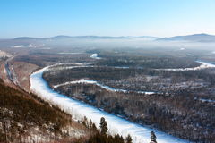 Fluss Amur Lizenzfreie Stockbilder