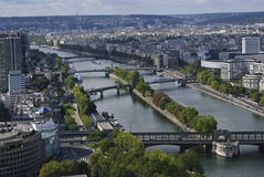 Fluss-Ansicht Lizenzfreies Stockfoto