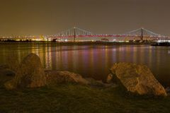 Fluss-Ansicht Stockbild