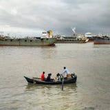 Fluss-Ansicht von Karnaphully Lizenzfreies Stockbild