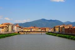 Fluss Arno lizenzfreie stockfotos