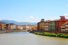 Fluss Arno lizenzfreies stockbild