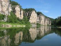 Fluss Ay Lizenzfreies Stockfoto