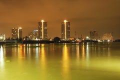 Fluss Bangkok Stockfotografie