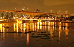 Fluss Bangkok Lizenzfreie Stockfotos