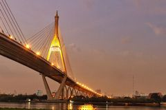 Fluss Bangkok Stockfotos