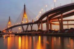Fluss Bangkok Lizenzfreies Stockfoto