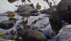 Fluss Berg-Artouste 05 Lizenzfreie Stockfotos