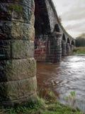 Fluss-Brücke 1 lizenzfreies stockbild