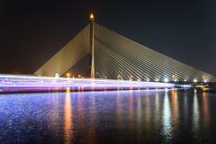 Fluss-Brücke in Bangkok Lizenzfreie Stockfotos