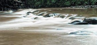 Fluss-Brown-Fluss Lizenzfreies Stockbild