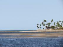 Fluss Bunharem-Delta - Porto Seguro Stockfotografie