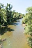Fluss Cherni Osam, Bulgarien Lizenzfreie Stockfotografie