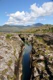 Fluss Cijevna Stockbild