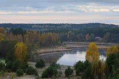 Fluss Daugava lizenzfreies stockbild