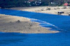 Fluss-Delta-Wiese Lizenzfreies Stockfoto