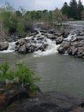 Fluss des fließenden Wassers Stockbilder