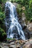 Fluss des Wasserfalls Lizenzfreies Stockfoto