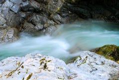 Fluss des Wassers Lizenzfreies Stockbild