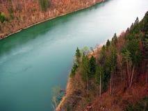 Fluss die Drau Lizenzfreies Stockbild