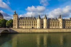Fluss die Seine - Paris Frankreich Stockbild