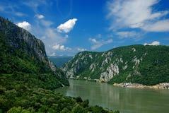 Fluss Donau Stockfoto