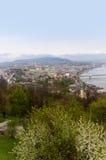 Fluss Donau Budapest Ungarn Stockfoto