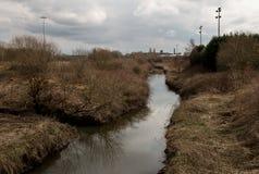 Fluss Douglas, Wigan stockfotos
