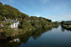 Fluss Dovey Stockfotos