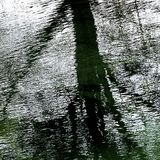 Fluss Driffield Ost-Yorkshire England Lizenzfreie Stockbilder