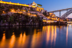 Fluss-Duero-Reflexionen Lizenzfreie Stockfotos