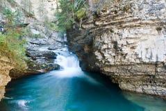 Fluss in einer Schlucht. lizenzfreies stockfoto