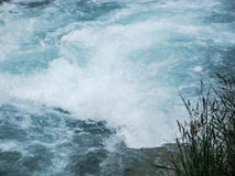 Fluss Erholungsort Issyk-Ata in Kirgisistan Stockfoto