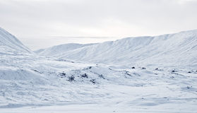 Fluss Ericht Tal vom Drumochter Durchlauf, Schottland Stockfoto