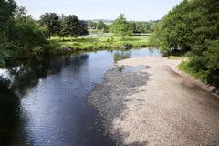 Fluss Exe, Somerset Lizenzfreie Stockfotografie