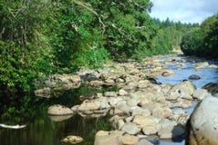 Fluss Fechlin Whitebridge lizenzfreie stockbilder