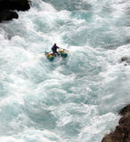 Fluss-Flößen Lizenzfreies Stockfoto