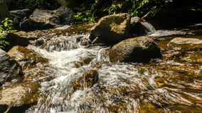 Fluss-Fluss Stockbild