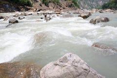 Fluss Ganga, der Ganges Lizenzfreies Stockbild