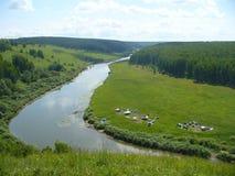 Fluss harmonie stockbilder