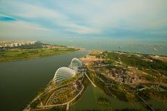 Fluss Hongbao, Singapur. Stockfotografie