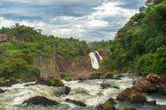 Fluss Iguazu Lizenzfreie Stockfotos