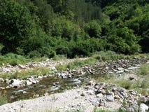 Fluss im Berg lizenzfreie stockfotos