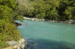 Fluss im Berg Lizenzfreies Stockbild