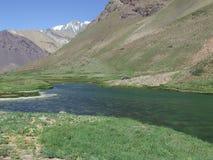 Fluss im Patagonia Lizenzfreies Stockbild