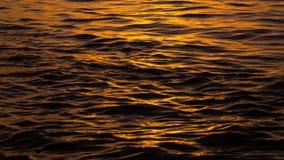 Fluss im Sonnenuntergang Lizenzfreie Stockfotografie