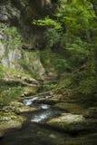 Fluss Italien Abruzzo Stockfotos