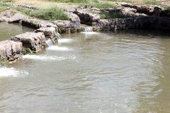 Fluss Jordan Israel lizenzfreies stockfoto