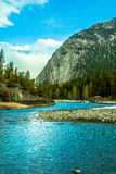 Fluss in Kanada Lizenzfreies Stockbild