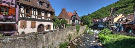 Fluss in Kaysersberg Lizenzfreies Stockfoto